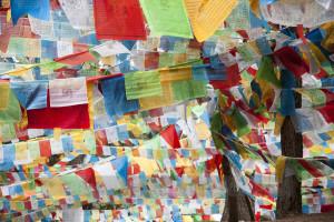 Tibetan Prayer Flags - Ron Yue