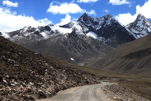 On the S314, Tibet...