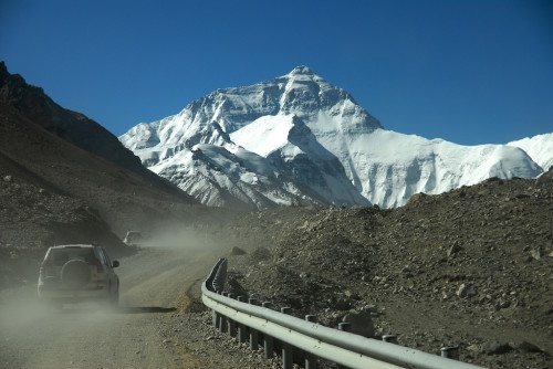 Arriving at Mt Everest Basecamp