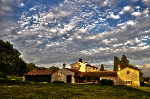 The Istrian countryside...a small corner of paradise...as Italy used to be...