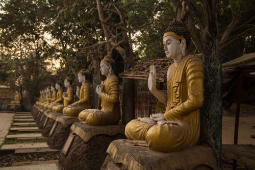 Lower Burma pagoda