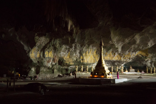 A cave pagoda, Hpa An