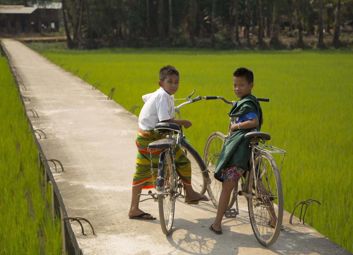 Bikes in Burma