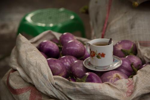 Market teatime
