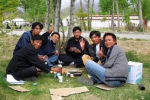 Lhasa Beer al fresco